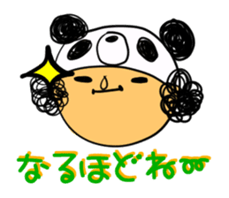Headdress PANDA Girls sticker #542009