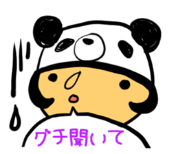 Headdress PANDA Girls sticker #542010