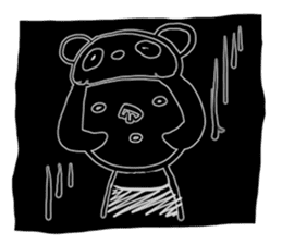 Headdress PANDA Girls sticker #542033