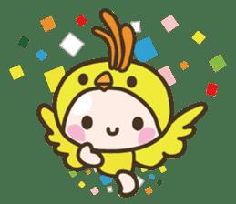 YURUMOCHI KINDERGARTEN Kid fairies World sticker #542154