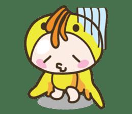 YURUMOCHI KINDERGARTEN Kid fairies World sticker #542155