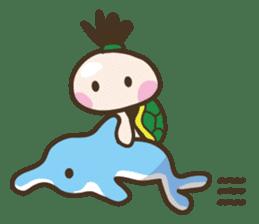 YURUMOCHI KINDERGARTEN Kid fairies World sticker #542164