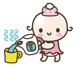 YURUMOCHI KINDERGARTEN Kid fairies World sticker #542166