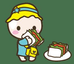 YURUMOCHI KINDERGARTEN Kid fairies World sticker #542172