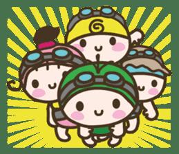 YURUMOCHI KINDERGARTEN Kid fairies World sticker #542174