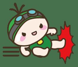 YURUMOCHI KINDERGARTEN Kid fairies World sticker #542175