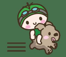 YURUMOCHI KINDERGARTEN Kid fairies World sticker #542182