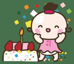 YURUMOCHI KINDERGARTEN Kid fairies World sticker #542185