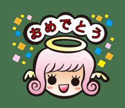 Angel and devil sticker #542362