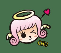 Angel and devil sticker #542382