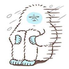 Cryptid sticker sticker #542710