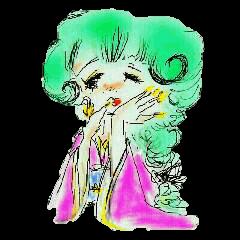 kawaii nail life & kimono princess story