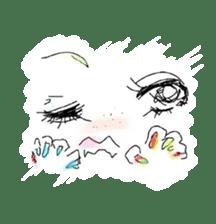 kawaii nail life & kimono princess story sticker #542756