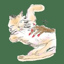 kawaii nail life & kimono princess story sticker #542764