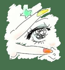 kawaii nail life & kimono princess story sticker #542767