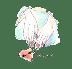 kawaii nail life & kimono princess story sticker #542778