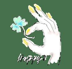 kawaii nail life & kimono princess story sticker #542781