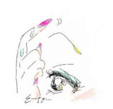 kawaii nail life & kimono princess story sticker #542783