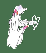 kawaii nail life & kimono princess story sticker #542784