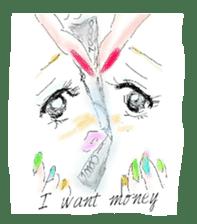 kawaii nail life & kimono princess story sticker #542786