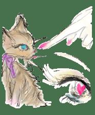 kawaii nail life & kimono princess story sticker #542791