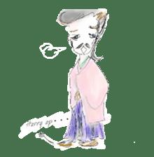 kawaii nail life & kimono princess story sticker #542792