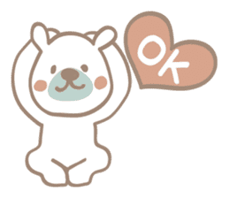 Minty of the  bear sticker #543322