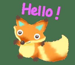 Mini Fox sticker #544594