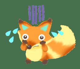 Mini Fox sticker #544596