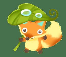 Mini Fox sticker #544597