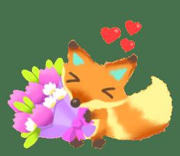 Mini Fox sticker #544598