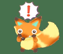 Mini Fox sticker #544599