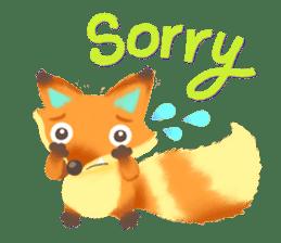 Mini Fox sticker #544600
