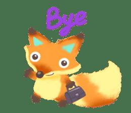 Mini Fox sticker #544602
