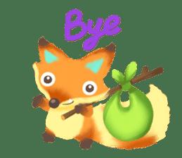 Mini Fox sticker #544603
