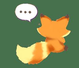 Mini Fox sticker #544604