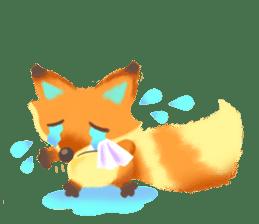 Mini Fox sticker #544605