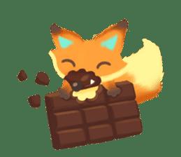 Mini Fox sticker #544607