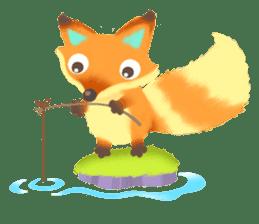 Mini Fox sticker #544609