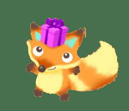 Mini Fox sticker #544610