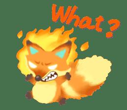 Mini Fox sticker #544612