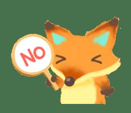 Mini Fox sticker #544615