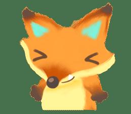Mini Fox sticker #544617