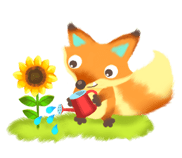 Mini Fox sticker #544621
