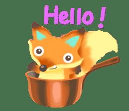 Mini Fox sticker #544622