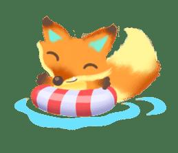 Mini Fox sticker #544624