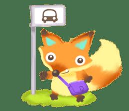 Mini Fox sticker #544625
