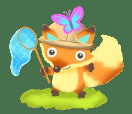 Mini Fox sticker #544626
