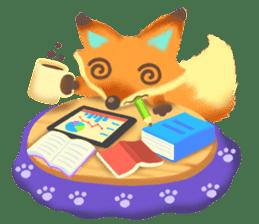 Mini Fox sticker #544629