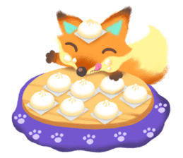 Mini Fox sticker #544631